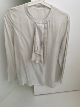 Camisa seda Uterque