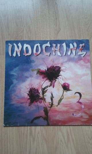 Lp vinilo new wave / pop rock. Indochine. 3.1985