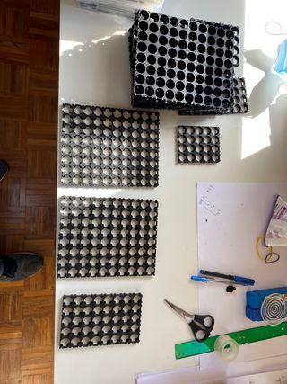 Celdas para pilas y hacer baterías de litio