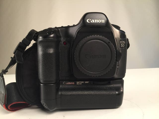 Cámara fotos Canon 5D