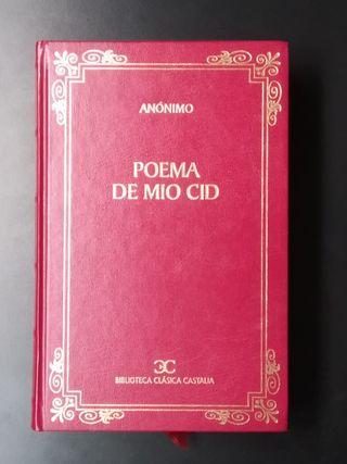 """Libro """"Poema de Mio Cid"""""""