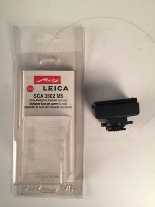 Adaptador de flash Mezt para Leica SCA 3502 M5
