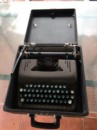 Antigua maquina escribir smith corona
