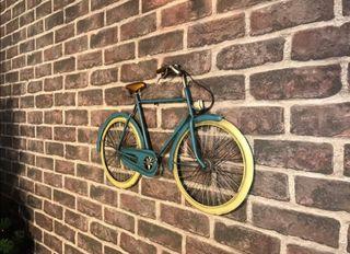 Bicicleta decoración industrial