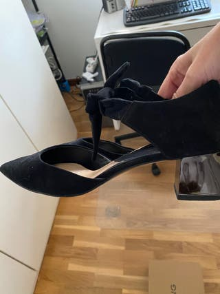 Zapato de ante de Mango usados 1 vez