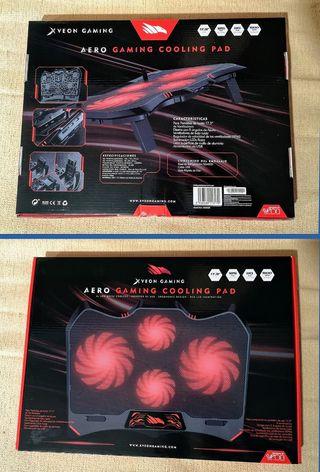 Xveon Gaming Aero Gaming Cooling Pad.Precintado