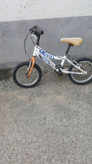 bicicleta niños.