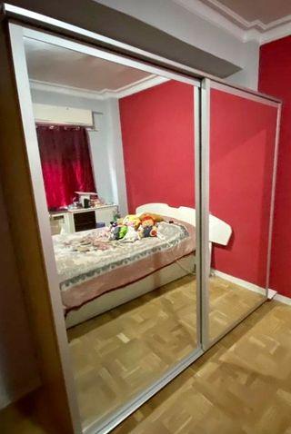 Armario con 2 puertas correderas con espejo