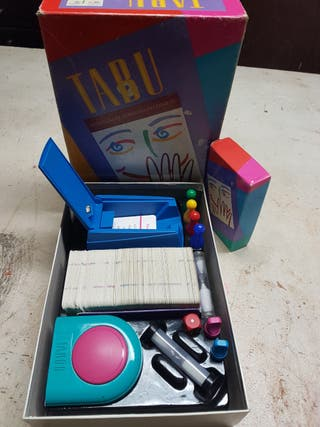juego de mesa TABU vintage