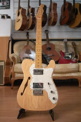 Fender SQUIER CV 70s Tele Thinline MN NAT
