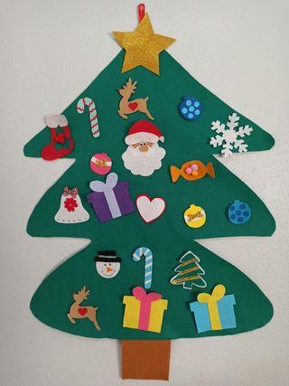 arbol de navidad montessori