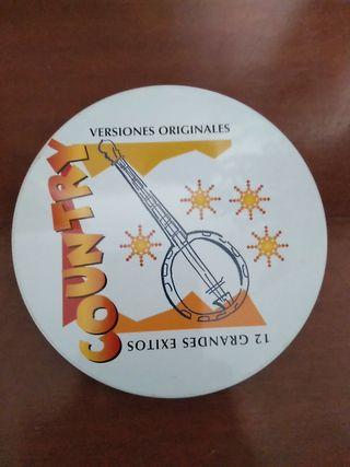 CD 12 GRANDES ÉXITOS COUNTRY