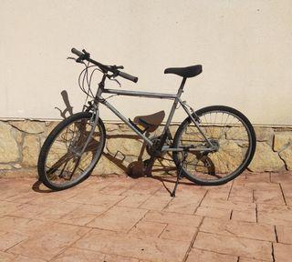 Bicicleta RESTAUDA en GRIS OXILON