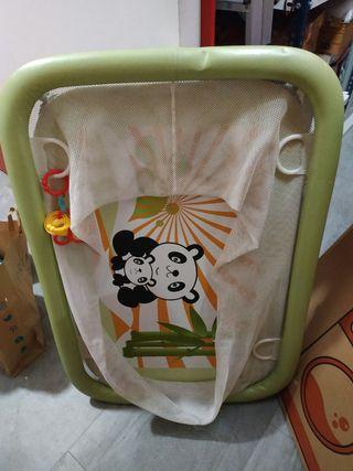 parque bebé y ropa premamama