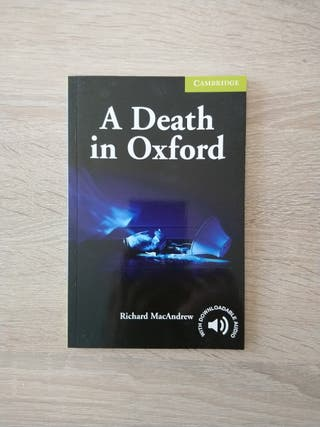 "Libro de Inglés. ""A Death in Oxford"""