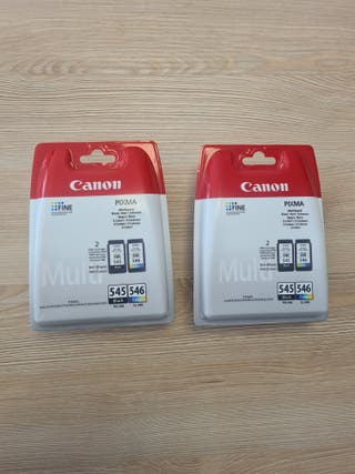 Doble cartucho de tinta Canon PG-545, CL-546