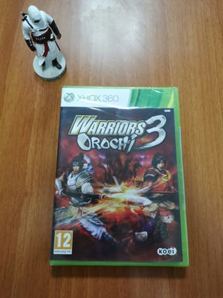 Warriors Orochi 3 Xbox 360 precintado