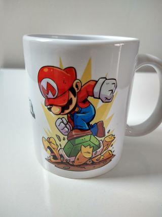 Taza fan Super Mario Bros