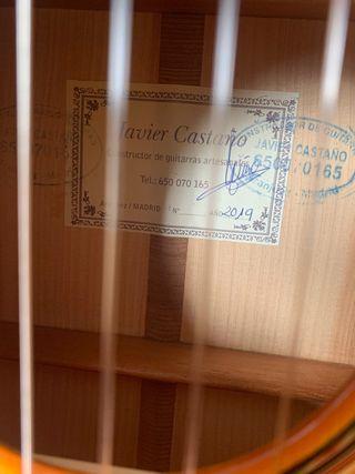 Guitarra Flamenca Javier Castaño