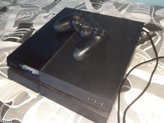 PS4 Orginal 500GB + DualShock 4 + 6 juegos