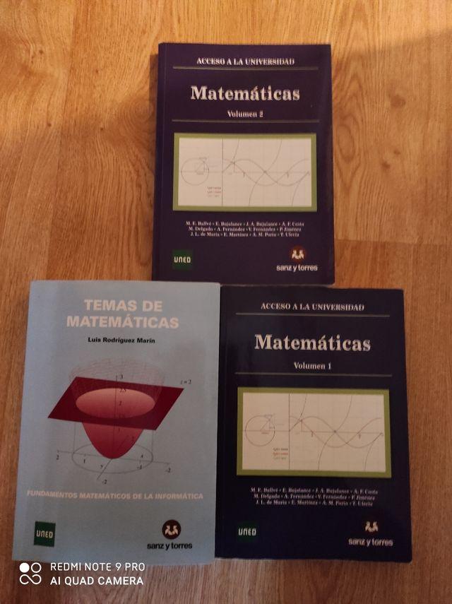 matemáticas acceso universidad 25 UNED