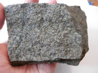 Mineral. Eclogita, enorme y pesada pieza