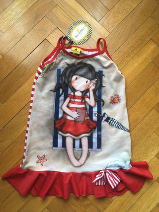 Santoro vestido niña talla 6