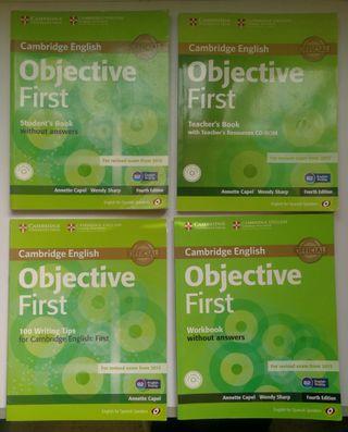 Libros Examen English First