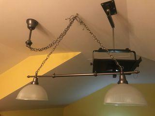 Lámpara para billar
