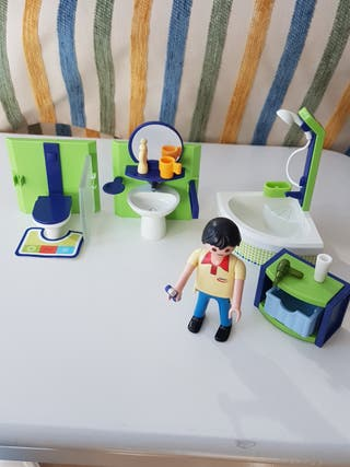 Baño Playmobil
