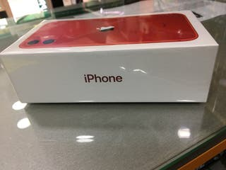 iPhone 11 64gb Rojo en GARANTÍA