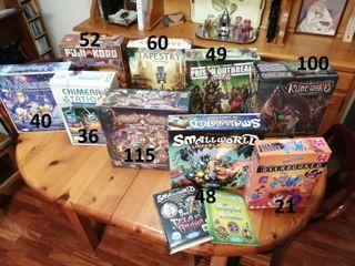 Muchos juegos de mesa