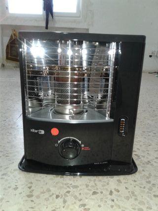 Estufa de mecha/bidon de parafina/bomba manual