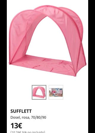 Dosel Ikea rosa