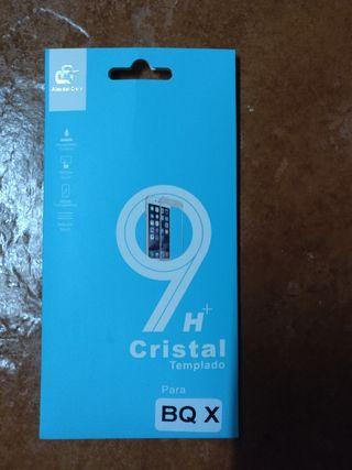 Cristal Templado - BQ Aquaris X / X Pro