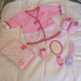 Albornoz (bata) Nenuca y accesorios