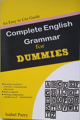 Complete English Grammar for Dummies