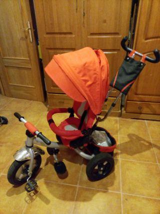 bicicleta para niñ@s con capota