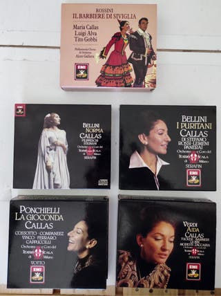 Operas de Maria Callas
