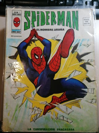 comic Spider-man vertice v2 número 7