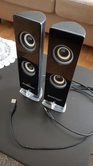 Altavoces USB