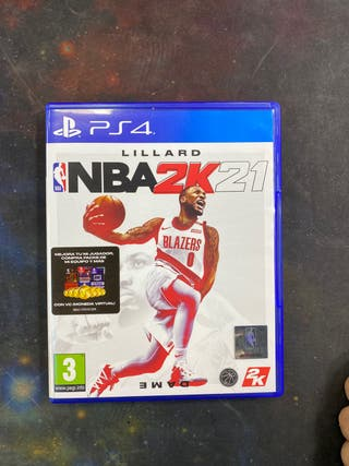 VIDEOJUEGO PS4 NBA2K21