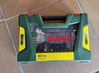 Maletín Bosch V línea - 83 piezas. Sin estrenar