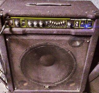 amplificador de bajo Harley benton HBW 150