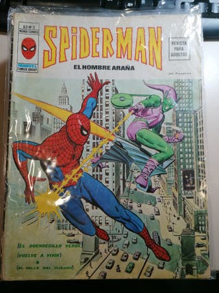 comic Spider-man vertice v2 número 3