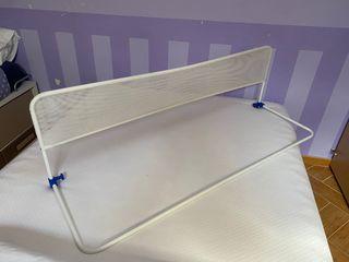 Barrera cama plegable