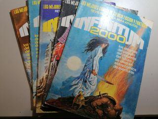 vendo pack varios comics infinitum 2000
