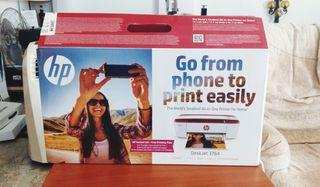 Impresora HP DeskJet 3764 Roja