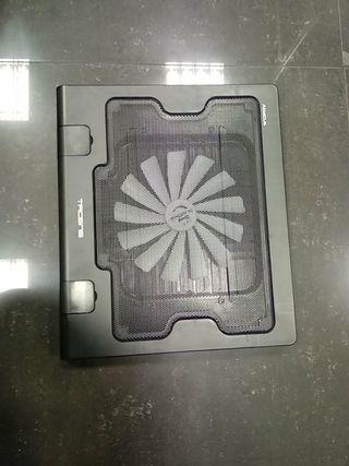 Ventilador-mesa portatil