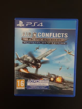 AIR CONFLICTS - Pacific Carriers Juego PS4